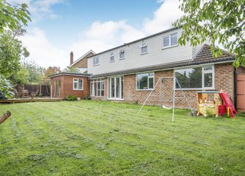 Thumbnail 5 bedroom detached house for sale in Half Moon Crescent, Oadby, Leicester
