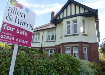 Thumbnail 5 bed semi-detached house for sale in Cardiff Road, Taffs Well, Cardiff