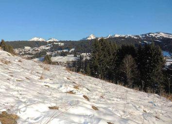 Thumbnail Land for sale in Les Gets, Haute-Savoie