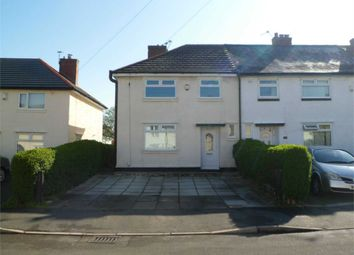 Thumbnail 3 bed end terrace house to rent in Forwood Road, Bromborough, Wirral