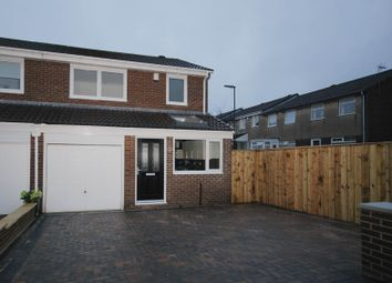 Thumbnail 3 bed semi-detached house for sale in Thornbury Close, Newcastle Upon Tyne