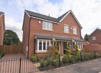 Thumbnail 2 bed semi-detached house for sale in The Pemberton, Meadow Bank, Off Gateway Avenue, Baldwins Gate, Newcastle