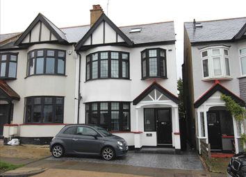 Thumbnail 4 bed end terrace house for sale in Woodfield Park Drive, Leigh-On-Sea
