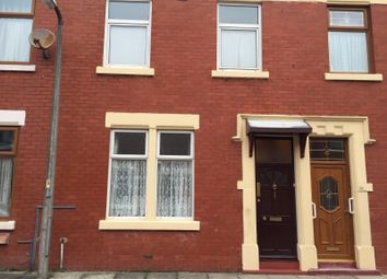 Thumbnail 3 bedroom terraced house to rent in Brixton Road, Preston