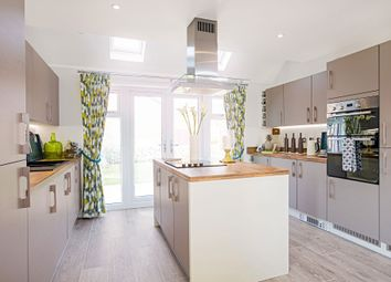 """Thumbnail 4 bed detached house for sale in """"The Berrington"""" at Winchester Road, Boorley Green, Botley"""