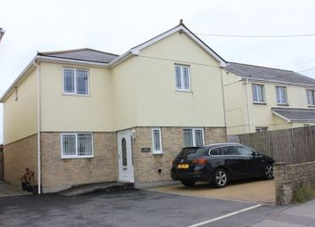 Thumbnail 4 bed detached house for sale in Station Road, Bugle, St. Austell