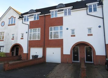 Thumbnail 4 bed town house for sale in Carisbrooke Road, Edgbaston, Birmingham