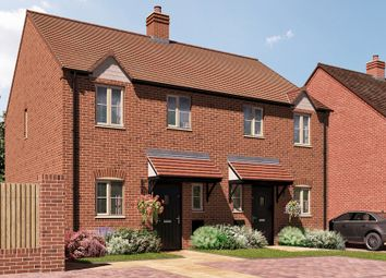 Thumbnail 3 bedroom semi-detached house for sale in Banbury Road, Southam, Warwick