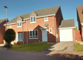 Thumbnail 3 bed semi-detached house to rent in Bow Bridge Close, Market Weighton, York