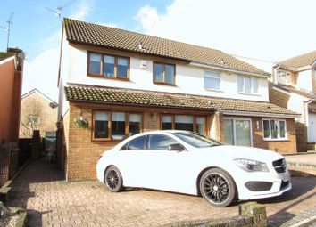 Thumbnail 3 bed semi-detached house for sale in Denison Way, Michaelston-Super-Ely, Cardiff