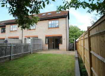 Thumbnail 3 bedroom end terrace house to rent in Ashbourne Place, London Road, Hildenborough