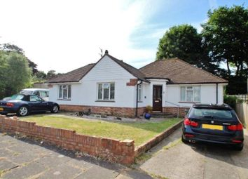 Thumbnail 3 bed detached bungalow for sale in Fontwell Close, Findon Valley, Worthing
