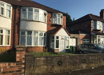 Thumbnail 3 bed semi-detached house to rent in Mauldeth Road, Manchester