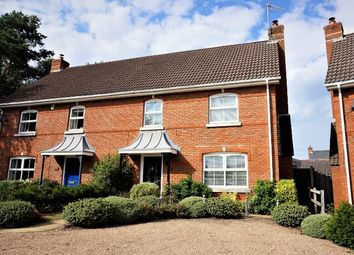 Thumbnail 3 bed semi-detached house for sale in Tadley Close, Fleet