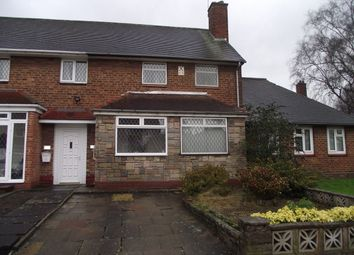 Thumbnail Property to rent in Nearmoor Road, Shard End, Birmingham