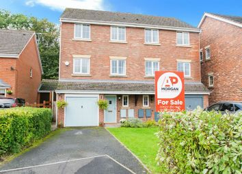 Thumbnail 4 bed semi-detached house for sale in Mallow Drive, Woodland Grange, Bromsgrove