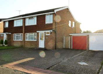 Thumbnail 4 bed semi-detached house for sale in Crosby Close, Worthing, West Sussex