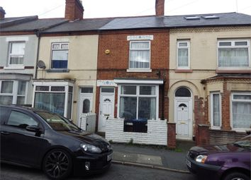 Thumbnail 3 bed terraced house for sale in Queens Road, Hinckley, Leicestershire