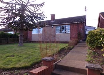 Thumbnail 2 bed bungalow to rent in Field Drive, Shirebrook, Mansfield