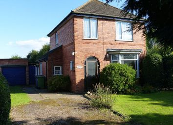 Thumbnail 3 bed detached house for sale in Station Road, Langworth, Lincoln