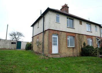 Thumbnail 3 bed semi-detached house to rent in Stibbard Road, Fulmodestone, Fakenham Norfolk