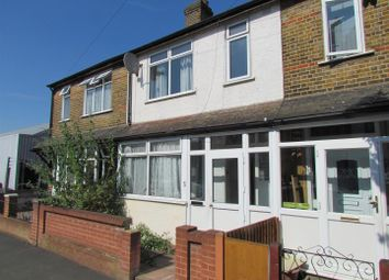 Thumbnail 3 bed terraced house to rent in Knighton Road, Romford