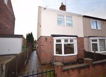 Thumbnail 3 bed semi-detached house for sale in York Street, Hasland, Chesterfield