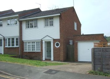 Thumbnail 3 bed end terrace house to rent in Delara Way, Woking