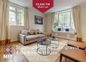 Thumbnail 4 bedroom detached house to rent in Stanhope Mews West, London