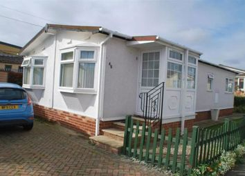 Thumbnail 2 bed mobile/park home for sale in Hoo Marina Park, Vicarage Lane, Hoo, Rochester