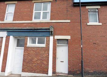 Thumbnail 2 bedroom flat to rent in Lesbury Street, Wallsend
