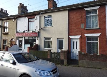Thumbnail 2 bed terraced house for sale in Wells Cottages, Raglan Street, Lowestoft