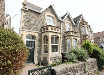 Thumbnail 3 bed terraced house for sale in Kenn Road, Clevedon