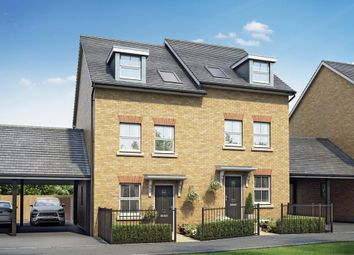 "Thumbnail 3 bedroom end terrace house for sale in ""Norbury"" at Post Hill, Tiverton"