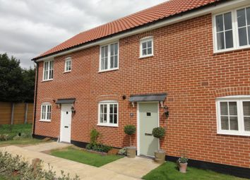 Thumbnail 2 bedroom end terrace house to rent in The Daubentons, Bury St. Edmunds