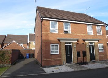 Thumbnail 2 bed semi-detached house for sale in Junction Crescent, Newcastle