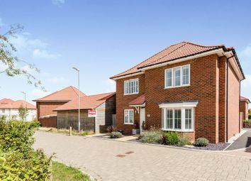 Sunshine Corner Avenue, Aylesham, Canterbury CT3. 4 bed detached house