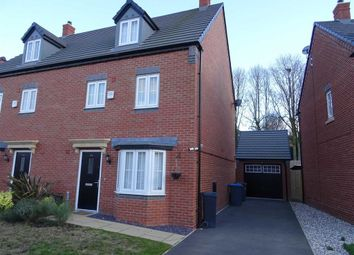 Thumbnail 4 bed semi-detached house for sale in Cardinal Drive, Burbage, Hinckley