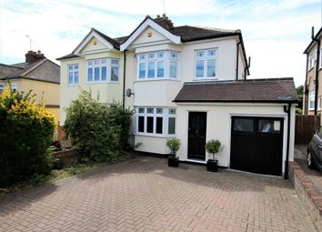 Thumbnail 3 bed detached house for sale in West Way, Brentwood