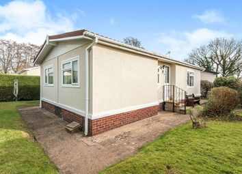 Thumbnail 2 bedroom bungalow for sale in Hazelmead Road, Cat & Fiddle Park, Clyst St. Mary, Exeter
