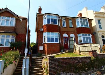 Thumbnail 3 bed semi-detached house for sale in Edmund Road, Hastings, East Sussex