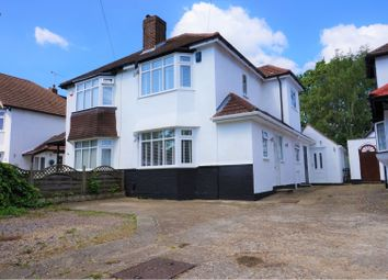 Thumbnail 3 bed semi-detached house for sale in Crescent Drive, Orpington