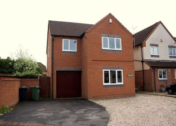 Thumbnail 4 bed detached house to rent in Pendock Close, Quedgeley, Gloucester
