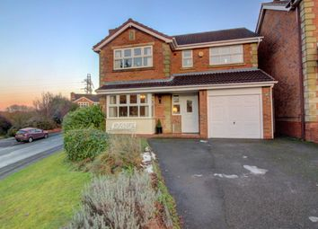 Thumbnail 4 bed detached house for sale in Lakeland Drive, Wilnecote, Tamworth