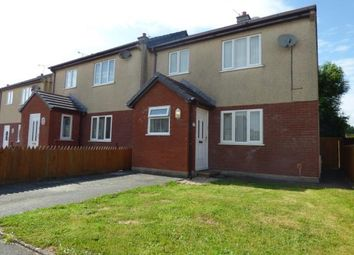 Thumbnail 3 bed semi-detached house for sale in Bro Ednyfed, Llangefni, Sir Ynys Mon