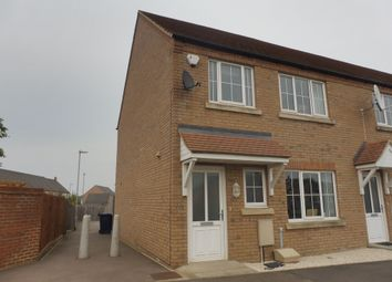 Thumbnail 3 bed end terrace house for sale in Gaul Road, March