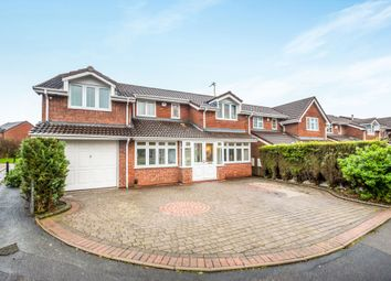 Thumbnail 5 bed detached house for sale in Buttermere Grove, Coppice Farm, Willenhall, West Midlands