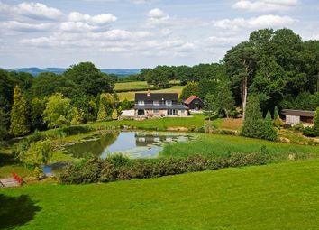 Thumbnail 5 bed equestrian property for sale in Shernden Lane, Marsh Green, Edenbridge