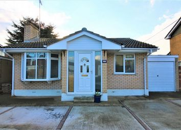 Thumbnail 2 bed detached bungalow for sale in Zealand Drive, Canvey Island, Essex