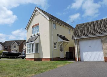 Thumbnail 3 bed detached house to rent in Borrett Place, Woodbridge